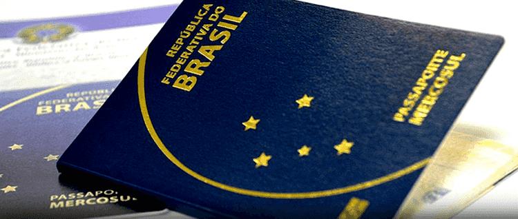 Passaporte brasileiro para viajar para os Estados Unidos