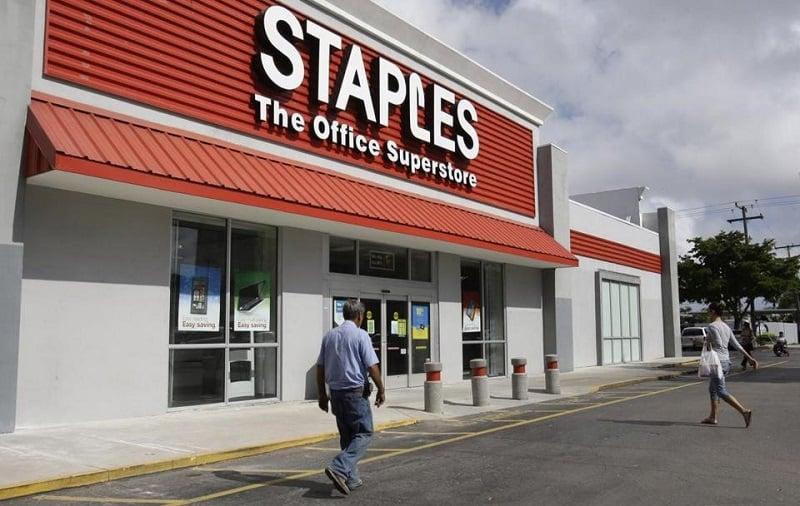 Loja Staples para comprar computadores e notebooks em Miami