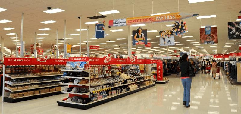 Supermercado e loja de departamentos Target em Miami