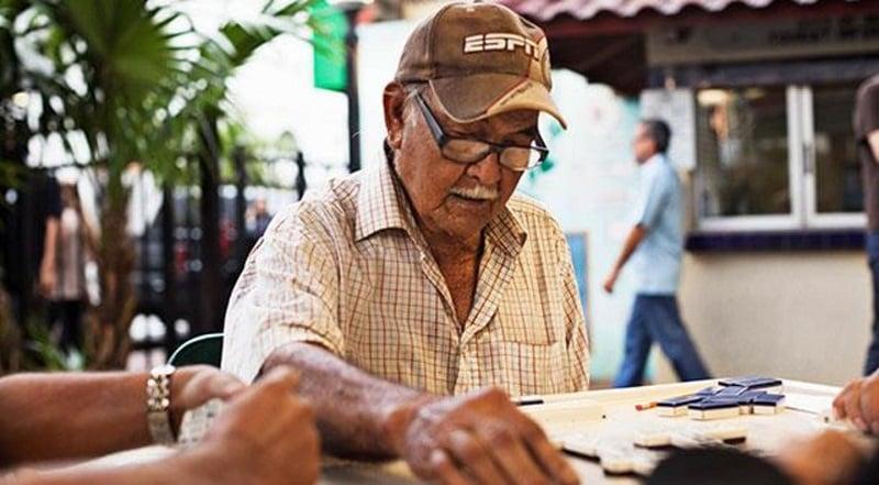 Maximo Gomez Park em Little Havana em Miami
