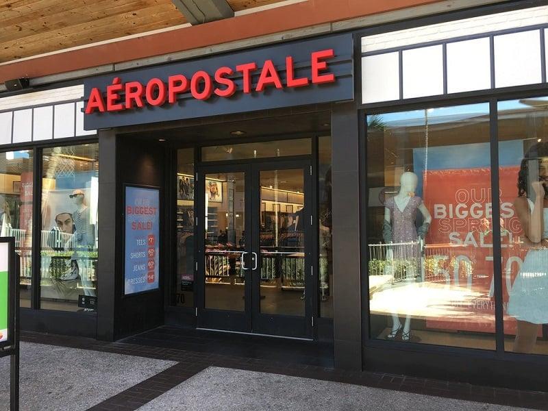 Lojas Aéropostale em Miami