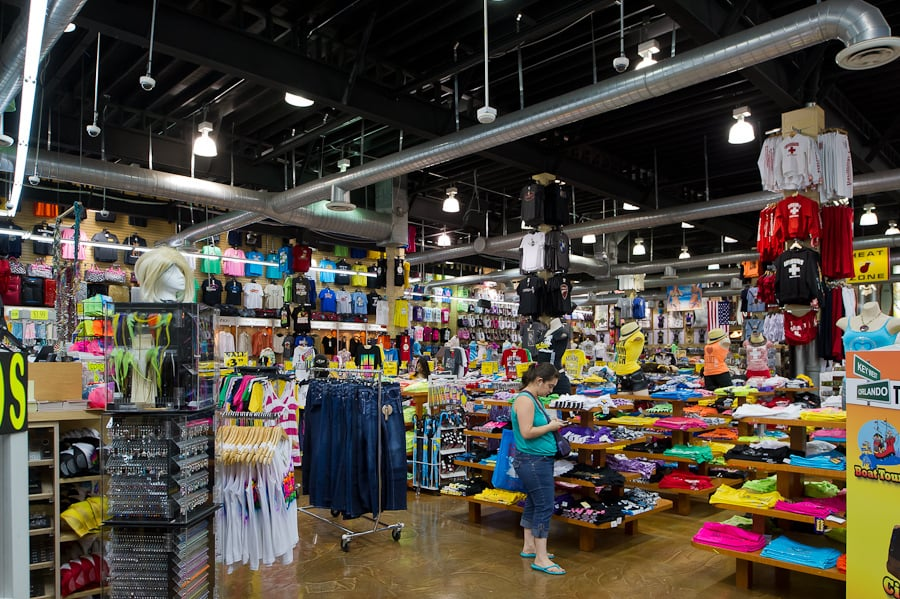 Loja de presentes e souvenirs Alvin's Island em Miami