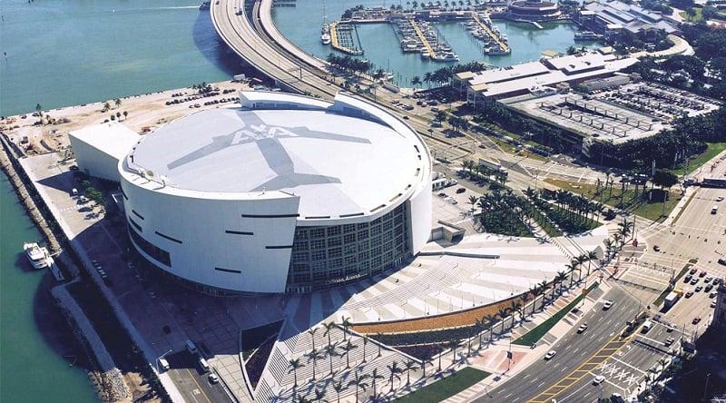 America Airlines Arena em Miami