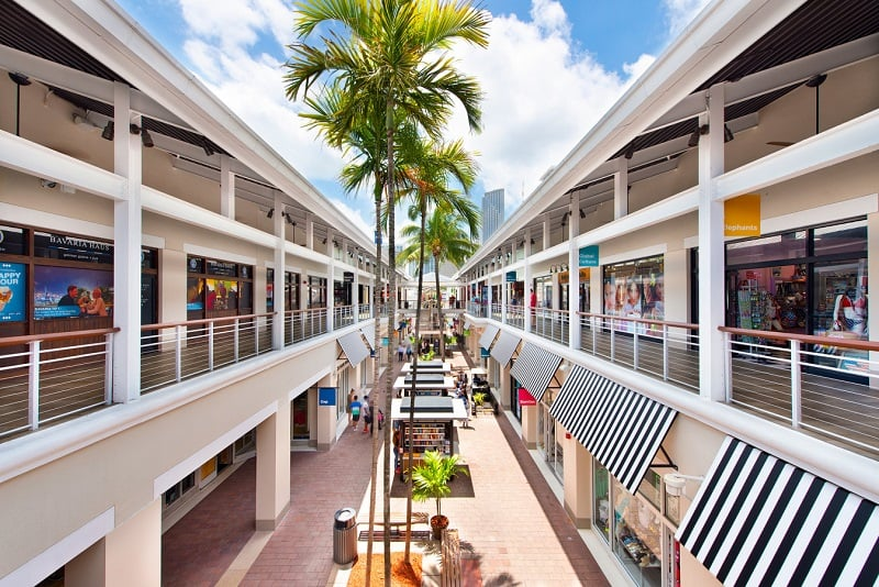 Shopping Bayside Marketplace em Downtown Miami