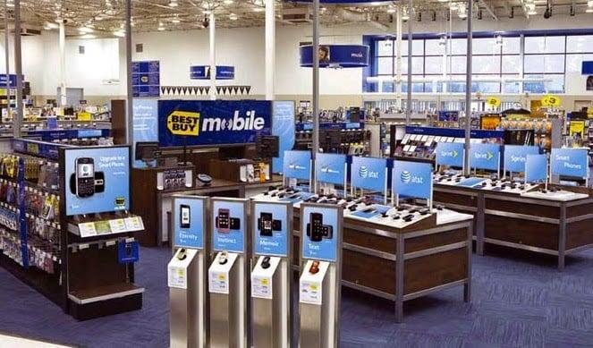 Comprar o Samsung Galaxy S5 e S4 na loja Best Buy nos Estados Unidos