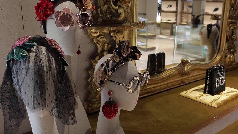 Loja Dolce & Gabbana na região de Bal Harbour em Miami