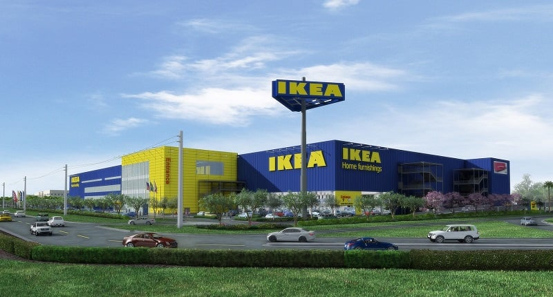 Informações da loja Ikea em Miami