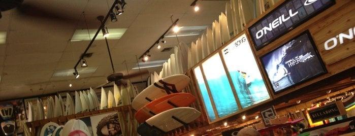 Loja Island Water para comprar coisas de surf em Miami
