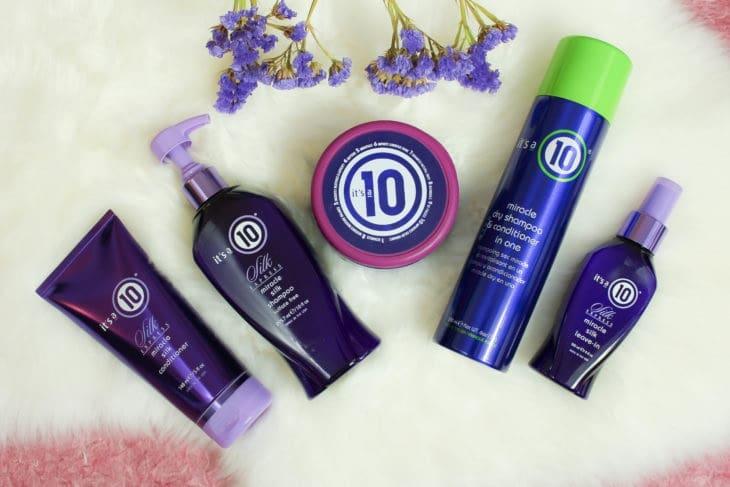 Compras de produtos para cabelos It's a 10 em Miami