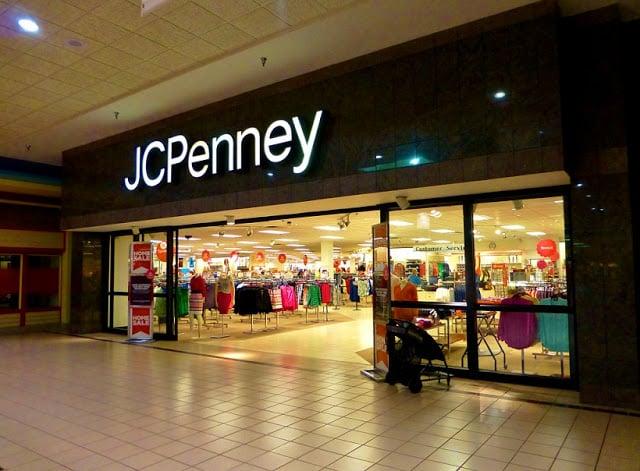Estrutura da loja JCPenney em Miami