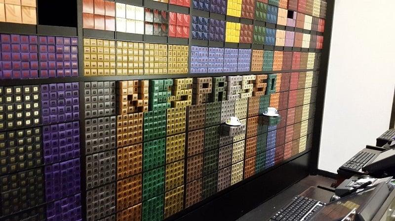 Variedades na loja da Nespresso em Miami Beach