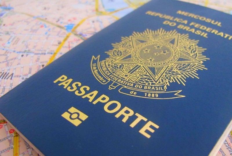 Passaporte brasileiro para viajar para Miami