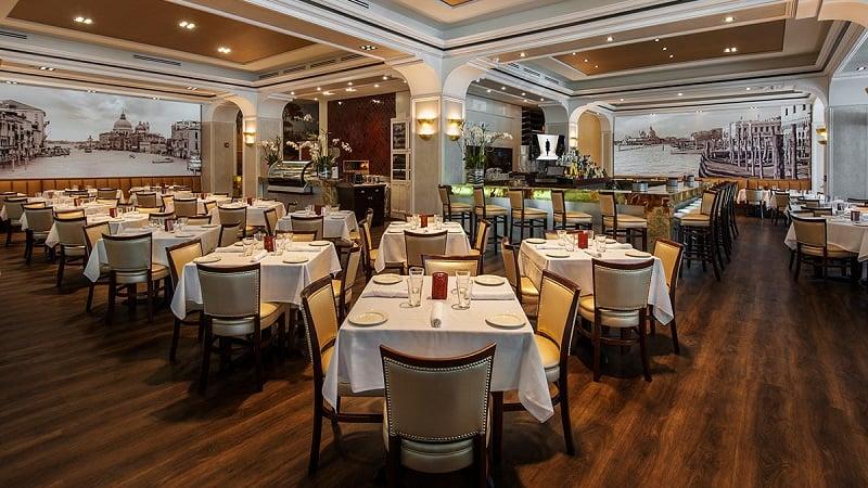Lugares para comer no shopping Bal Harbour Shops em Miami