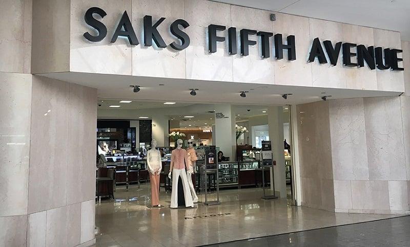 Preços na loja Saks Fifth Avenue em Miami