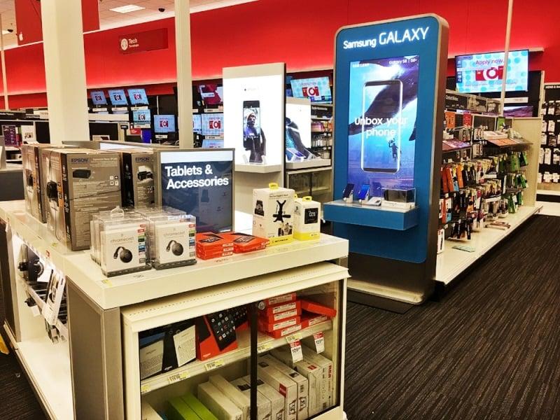 Comprar o Samsung Galaxy S5 e S4 na loja Target nos Estados Unidos