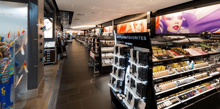 Loja de maquiagem e beleza Sephora Miami