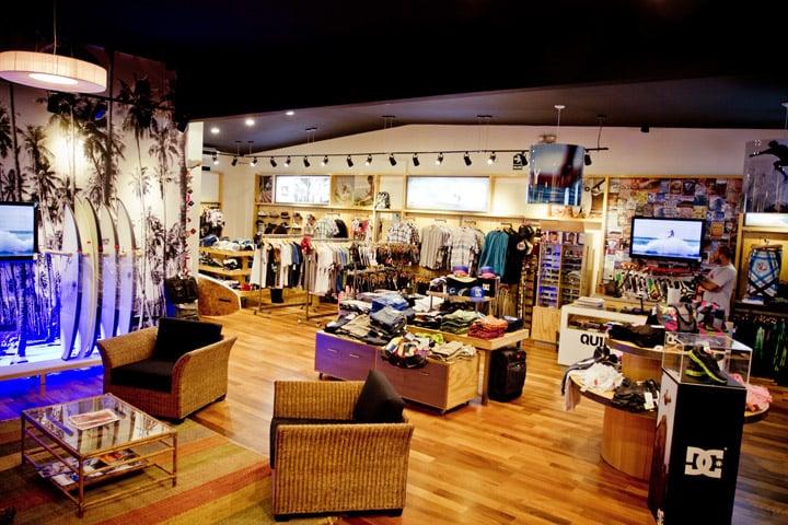Loja Quiksilver para comprar coisas de surf em Miami