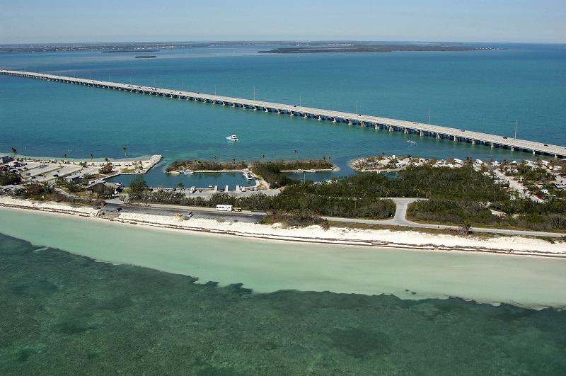 Praia Bahia Honda State Park em Miami