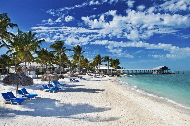 Praia Key West em Miami
