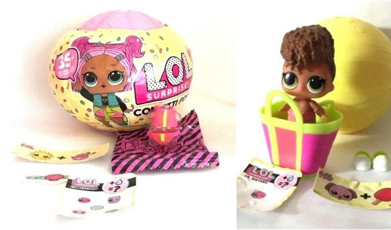 Compras das bonecas LOL Surprise em Miami