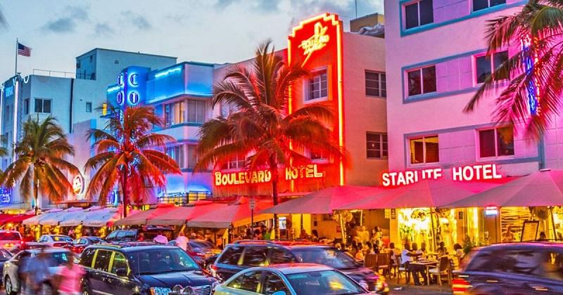 Roteiro de viagem na Ocean Drive em Miami
