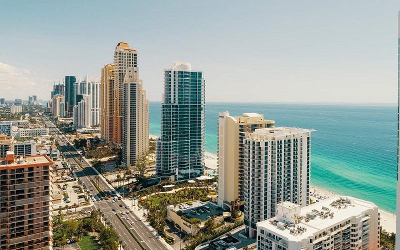 Praia Sunny Isles Beach em Miami