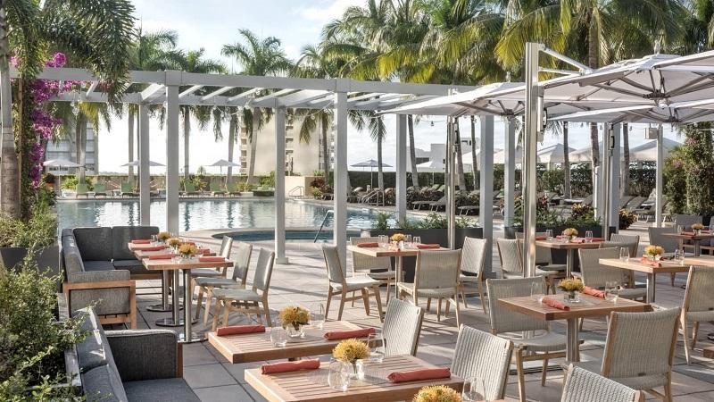 Bar Rooftop Edge Terrace em Miami