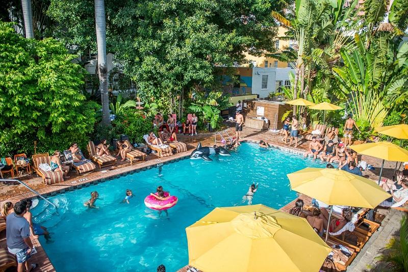 Hostels em uma viagem sozinho em Miami