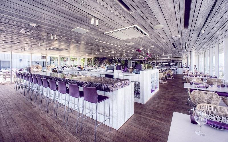 Bar Rooftop Juvia em Miamina Flórida