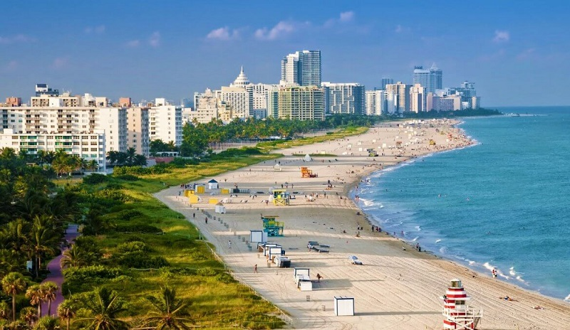 Roteiro de 3 dias em Miami: Praia Miami Beach