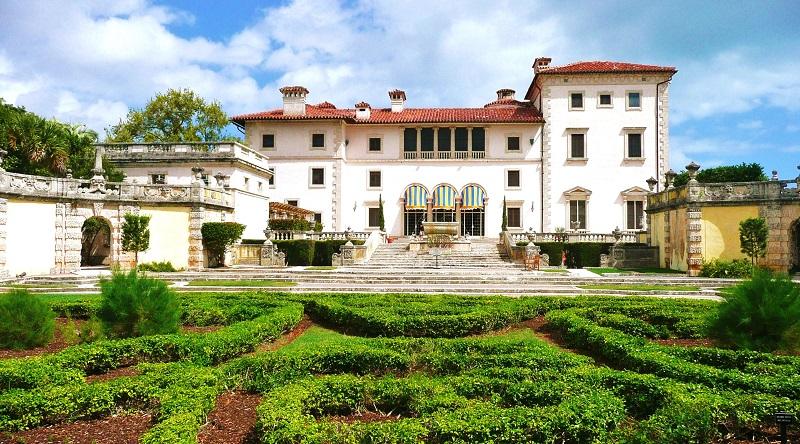 Villa Viscaya Museum para conhecer em Miami