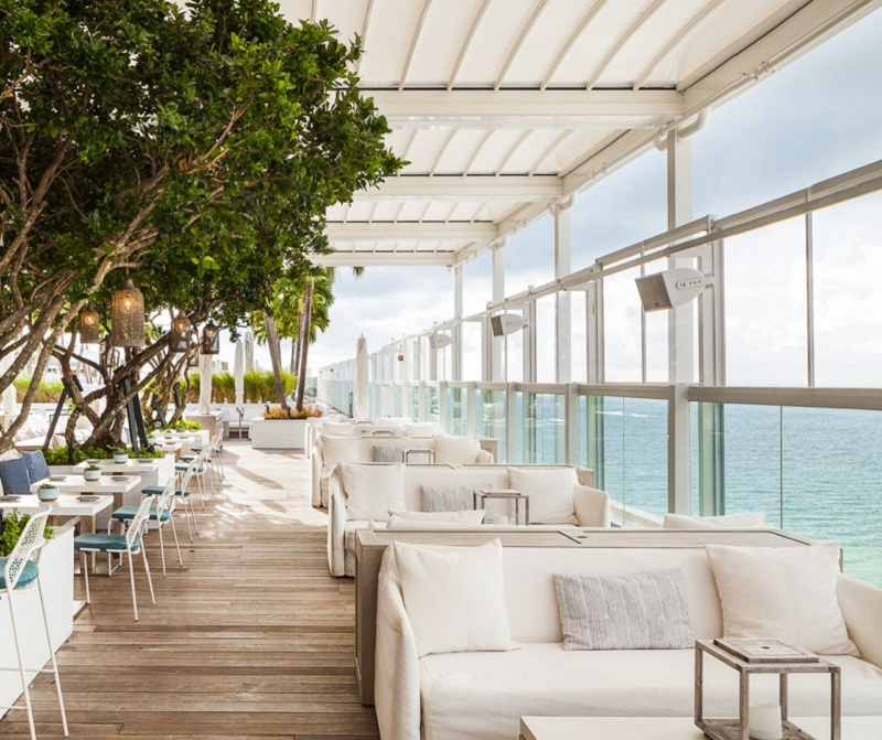 Bar Rooftop Watr em Miami