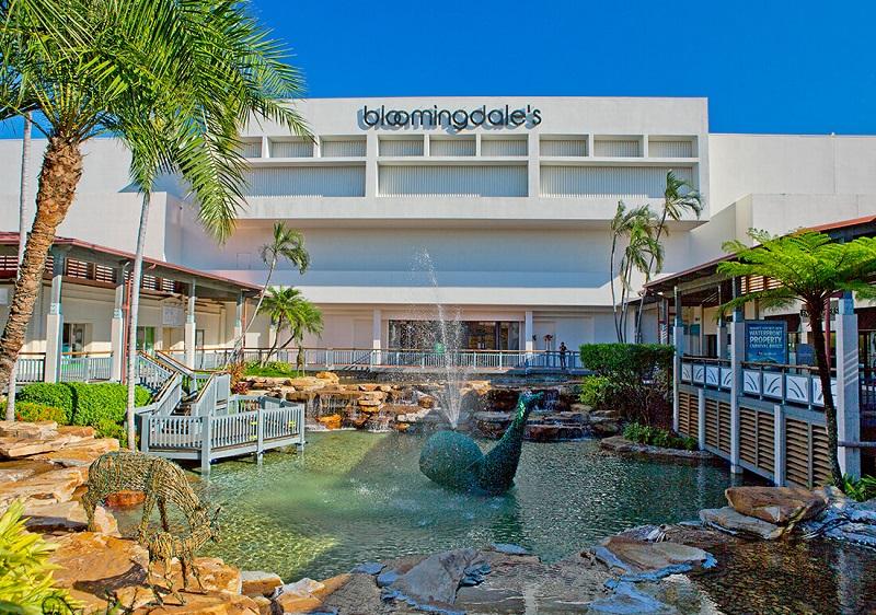 Bloomingdales no Shopping The Falls em Miami