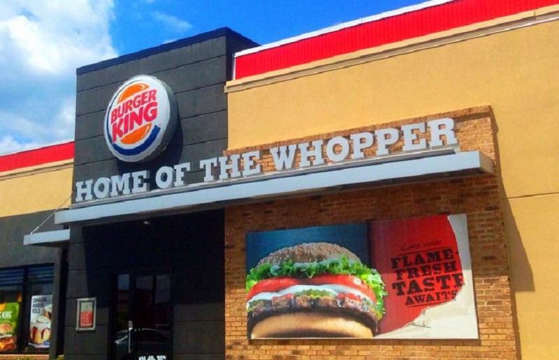 Fachada do Burger King em Miami