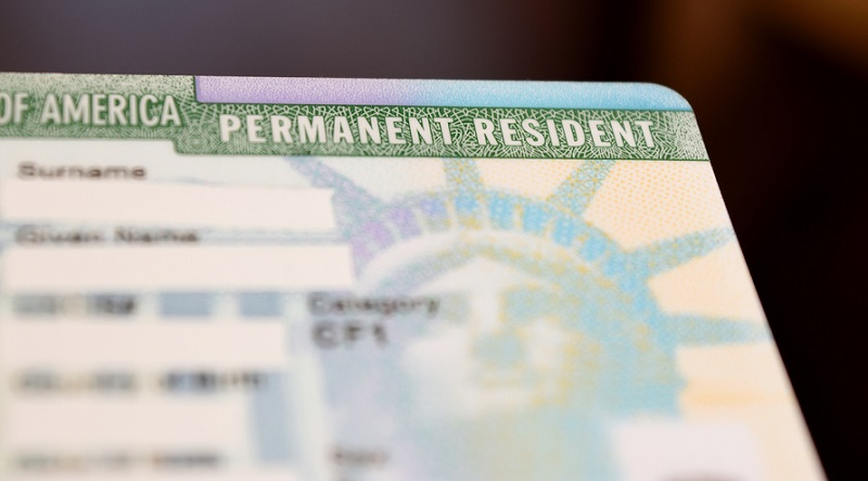 Green Card nos EUA