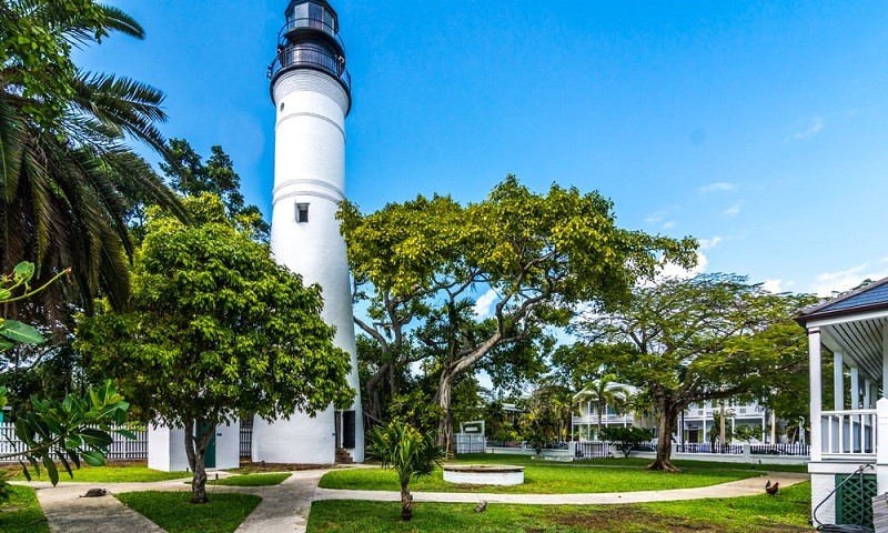 Lighthouse Museum em Key West