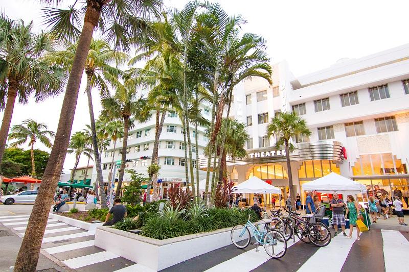 Beleza da Lincoln Road em Miami