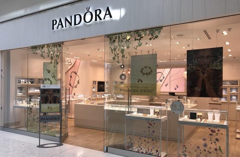 Loja da Pandora no Shopping Aventura Mall em Miami