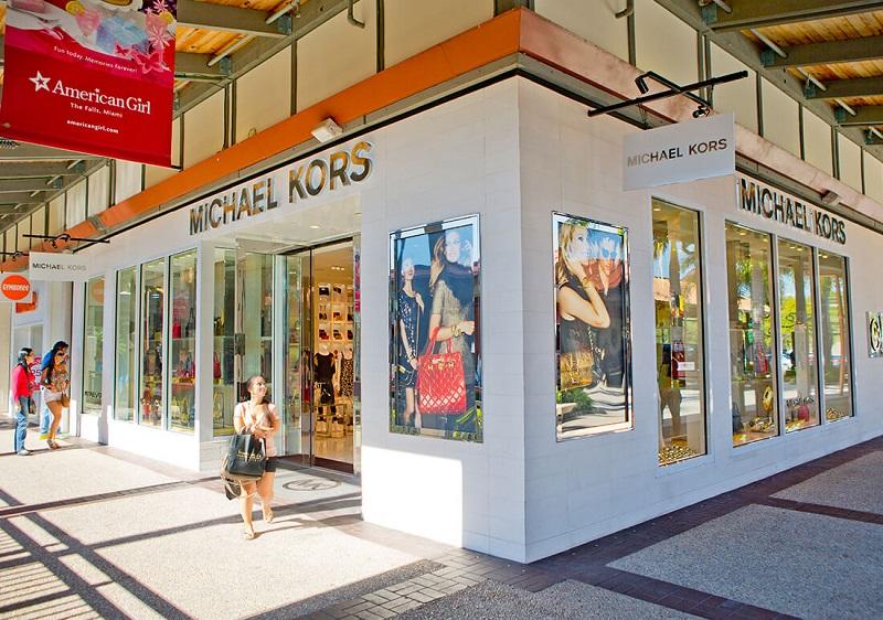 Loja Michael Kors no Shopping The Falls em Miami