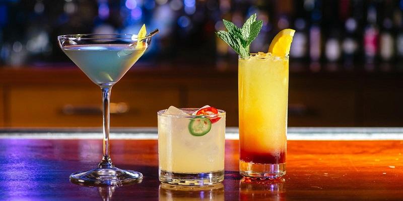 Drinks na SoBe Social Club em Miami