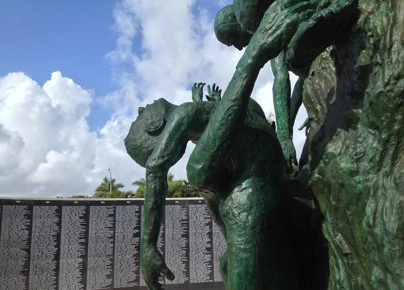Obras do Holocaust Memorial em Miami Beach