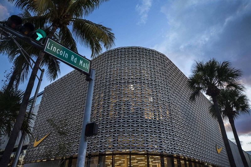 Placa Lincoln Road em Miami