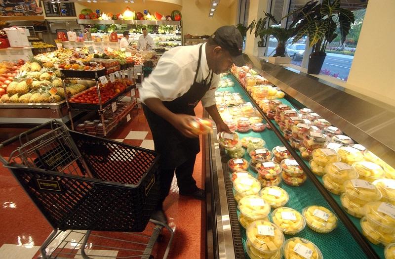 Produtos no Epicure Market em Miami: supermercado natural