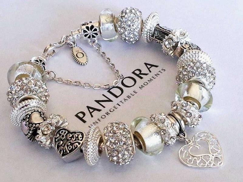 Preços das pulseiras nas lojas da Pandora em Miami