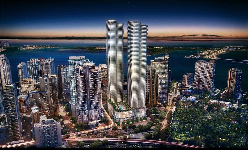 Região de Brickell em Miami