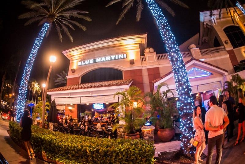 Bar Blue Martini em Fort Lauderdale