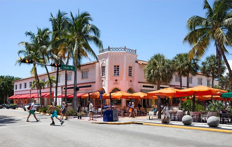 Lincoln Road para jovens em Miami