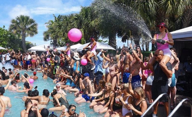 Pool parties para jovens em Miami