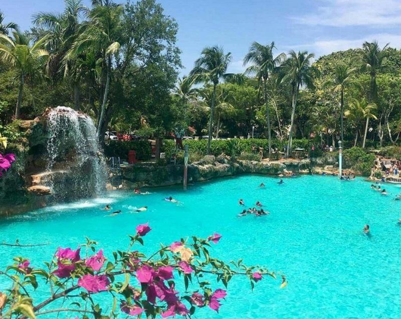 Venetian Pool na Coral Gables em Miami
