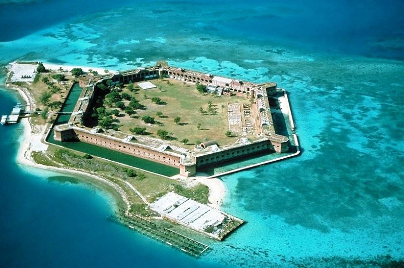 Parque Nacional de Dry Tortugas em Key West